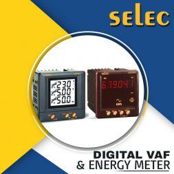 DIGITAL VAF & ENERGY METER