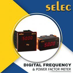 DIGITAL FREQUENCY & POWER FACTOR METER