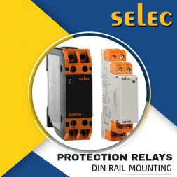 PROTECTION RELAYS DIN RAIL MOUNTING