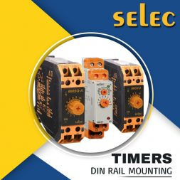 TIMERS DIN RAIL MOUNTING