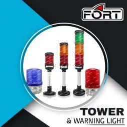 TOWER & WARNING LIGHT